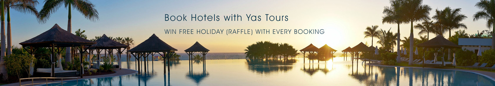Book Hotels with Yas Tours